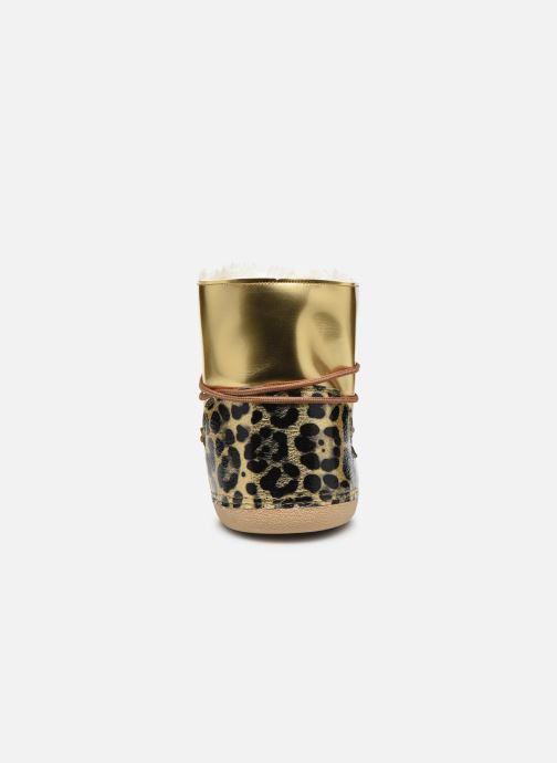 Bottines et boots Colors of California Inge Or et bronze vue droite