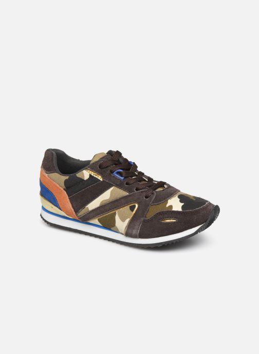 Sneakers Colors of California Allan Multicolor detail