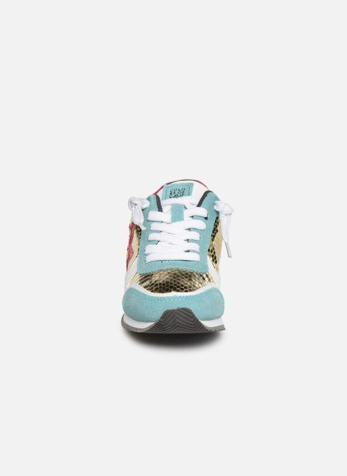 Baskets Colors of California Glenn Multicolore vue portées chaussures