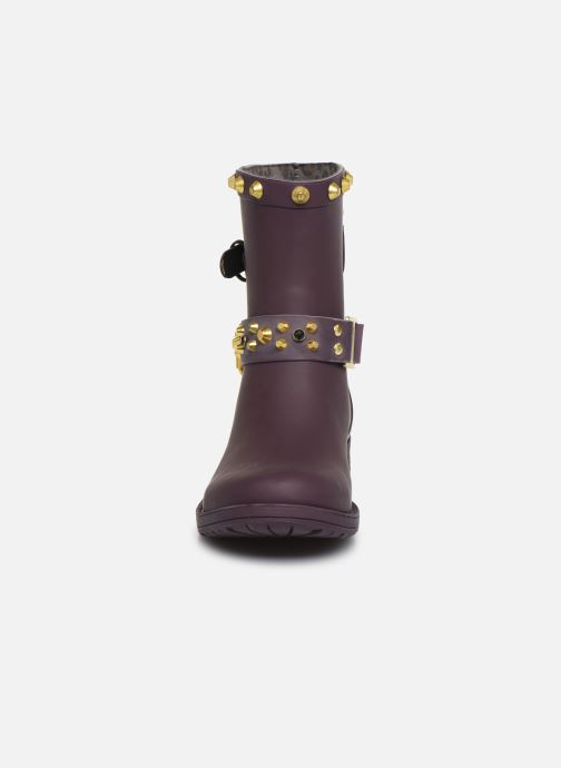 Ankle boots Colors of California Nadja Purple model view