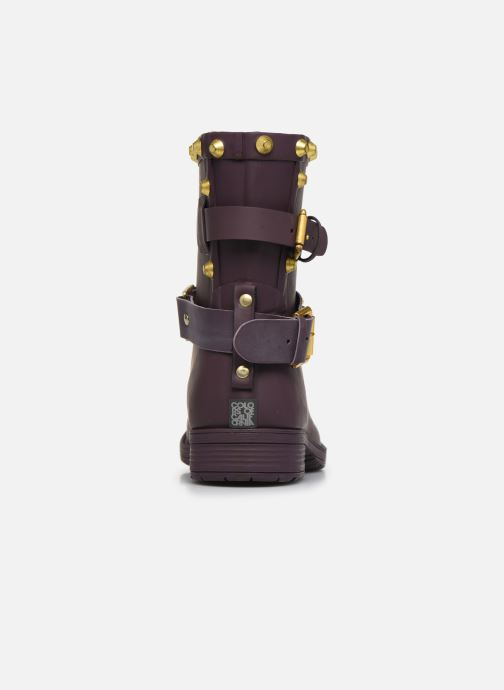 Ankle boots Colors of California Nadja Purple view from the right