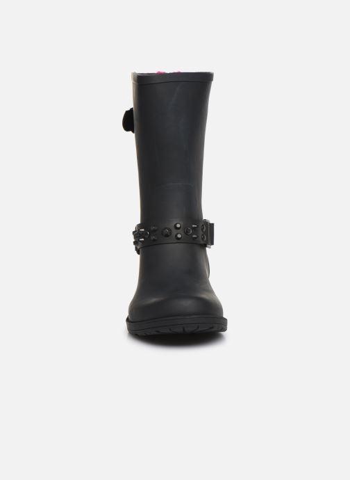 Bottines et boots Colors of California Tanja Noir vue portées chaussures