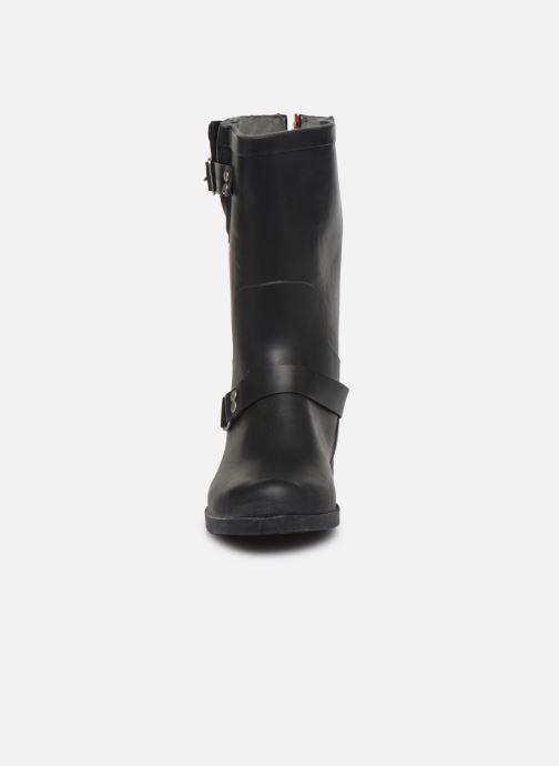 Stiefel Colors of California Gunborg schwarz schuhe getragen