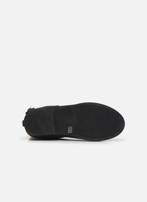 Stiefel Colors of California Gunborg schwarz ansicht von oben