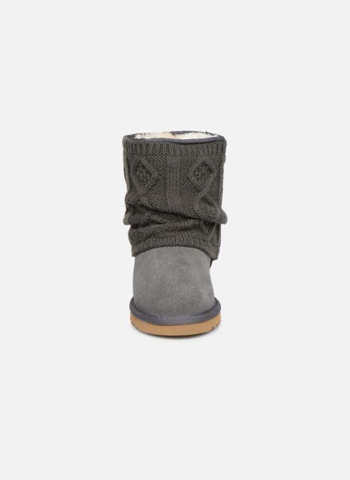 Stiefeletten & Boots Colors of California Elvira grau schuhe getragen