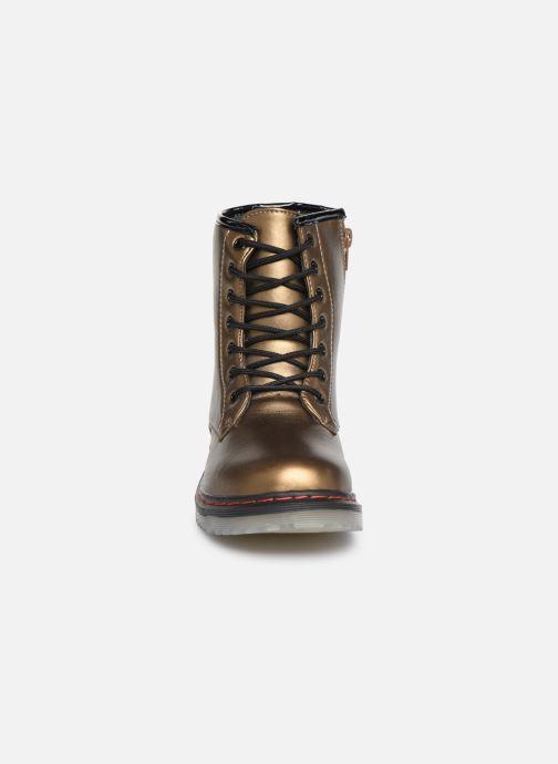 Bottines et boots Colors of California Moa Or et bronze vue portées chaussures