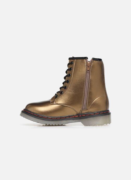 Bottines et boots Colors of California Moa Or et bronze vue face