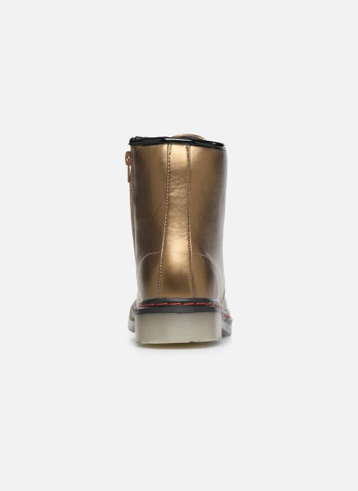 Bottines et boots Colors of California Moa Or et bronze vue droite