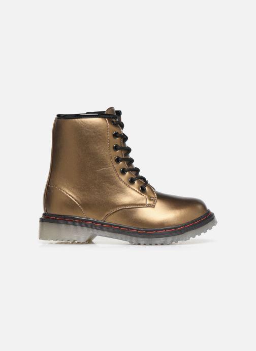 Bottines et boots Colors of California Moa Or et bronze vue derrière