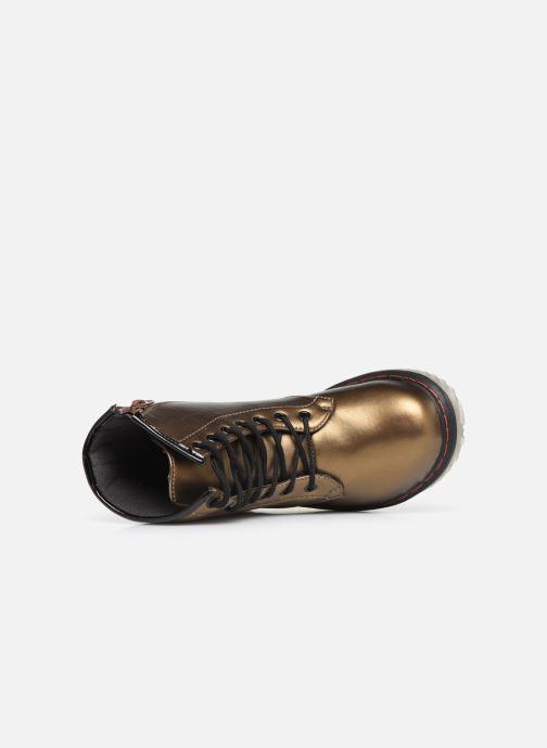 Bottines et boots Colors of California Moa Or et bronze vue gauche