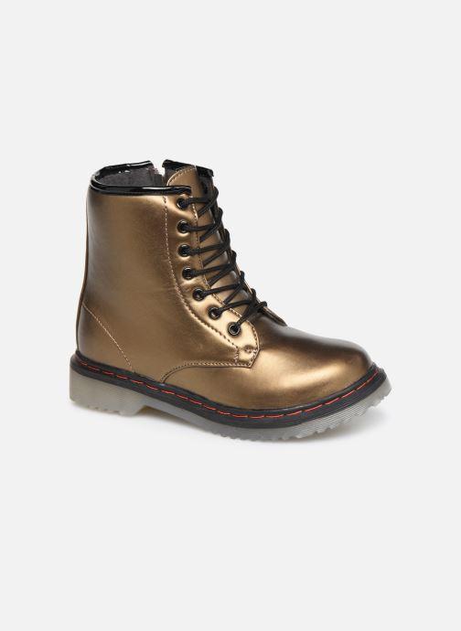 Bottines et boots Colors of California Moa Or et bronze vue détail/paire