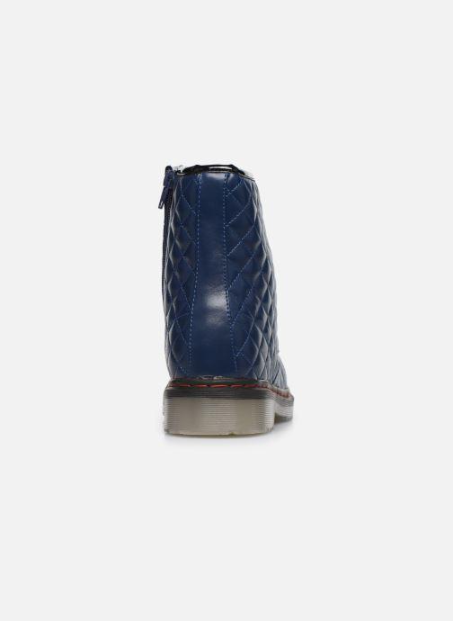 Bottines et boots Colors of California Vendela Bleu vue droite