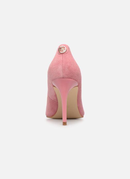 Zapatos de tacón Guess BENNIE16 Rosa vista lateral derecha
