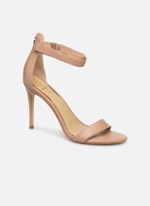 Sandales et nu-pieds Guess KAHLUA Beige vue détail/paire