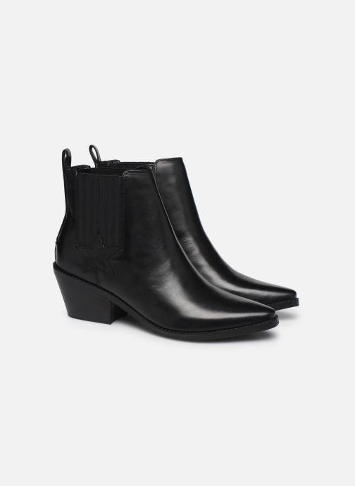 Bottines et boots Guess NEA Noir vue 3/4