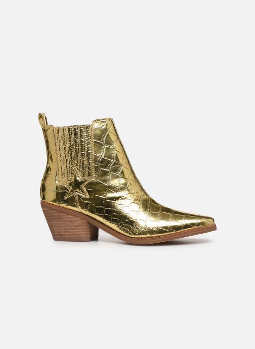 Bottines et boots Guess NEA Or et bronze vue derrière