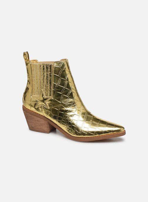 Bottines et boots Guess NEA Or et bronze vue détail/paire