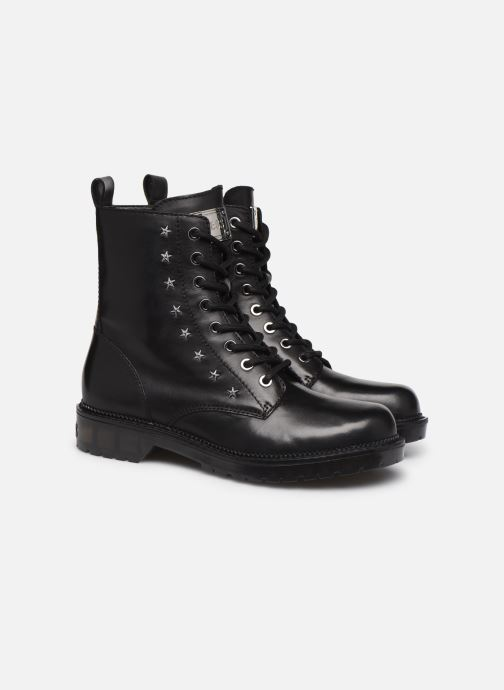 Bottines et boots Guess TAVORA Noir vue 3/4