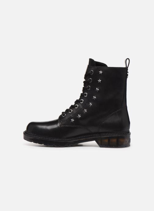Boots en enkellaarsjes Guess TAVORA Zwart voorkant