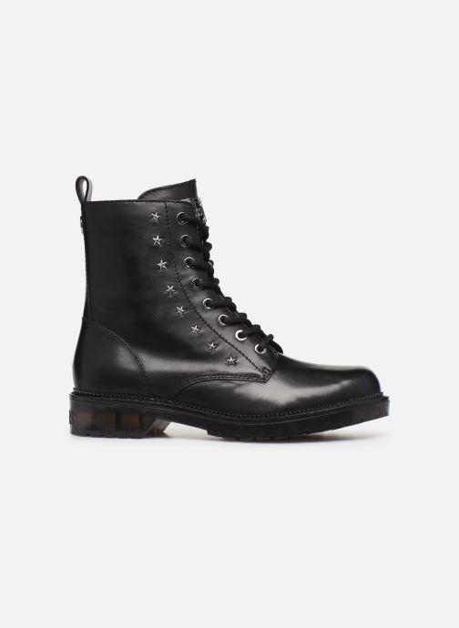 Boots en enkellaarsjes Guess TAVORA Zwart achterkant