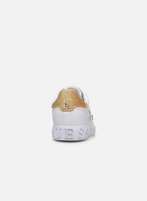 Baskets Guess PRYDE Blanc vue droite