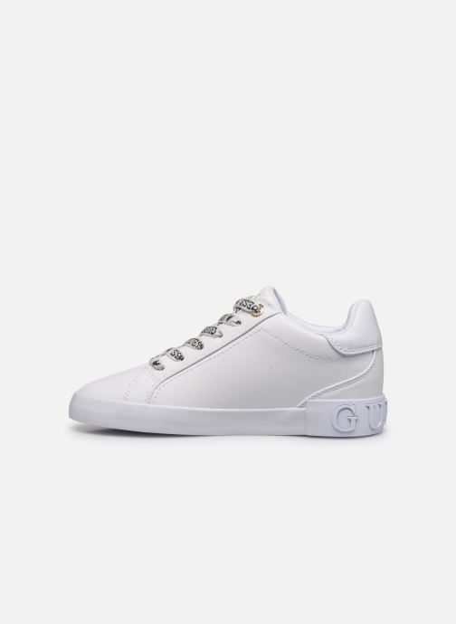Trainers Guess PUXLY White front view