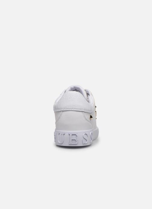 Sneaker Guess PUXLY weiß ansicht von rechts