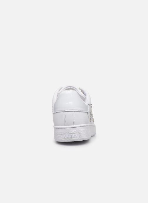 Baskets Guess RIDERR Blanc vue droite
