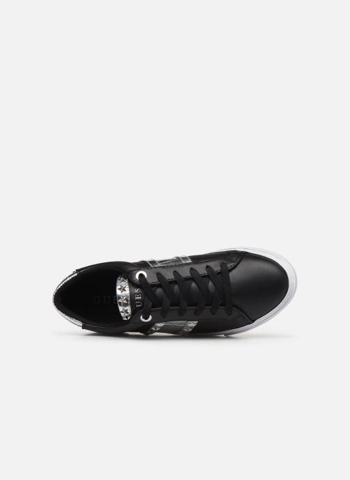 Sneakers Guess GRAYZIN Nero immagine sinistra