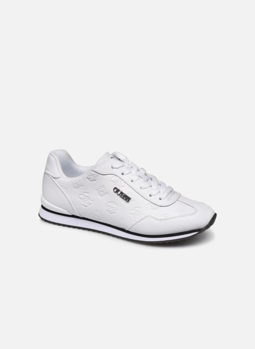 Baskets Guess CHARLIN2 Blanc vue détail/paire