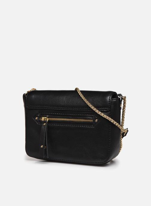 Handtaschen Petite mendigote Sullivan schwarz ansicht von rechts