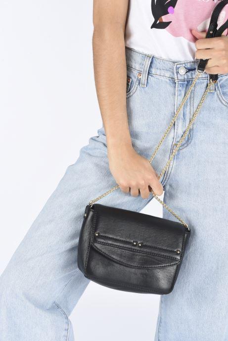 Handtaschen Petite mendigote Sullivan schwarz ansicht von unten / tasche getragen