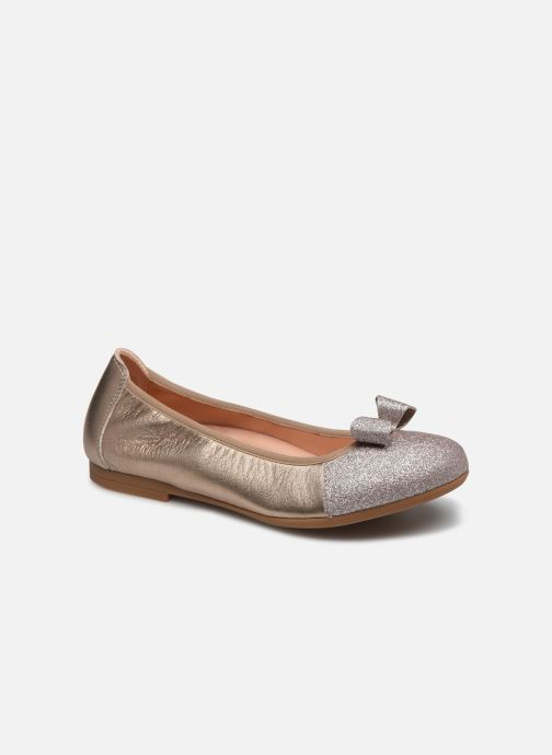 Ballet pumps Unisa Cory Silver detailed view/ Pair view