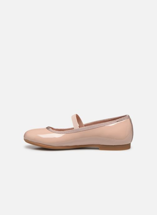 Ballerinas Unisa Carty beige ansicht von vorne