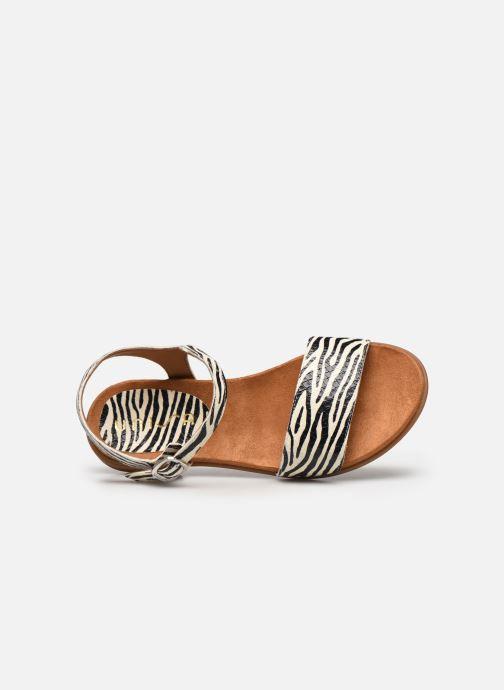 Sandales et nu-pieds Unisa Lirita Blanc vue gauche