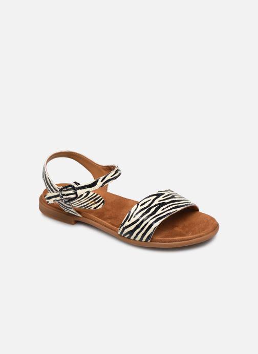 Sandales et nu-pieds Unisa Lirita Blanc vue détail/paire