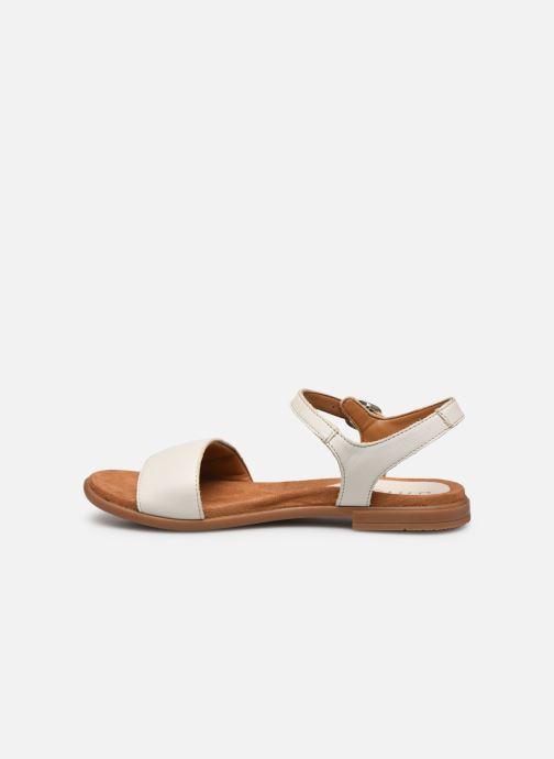 Sandales et nu-pieds Unisa Lirita Beige vue face