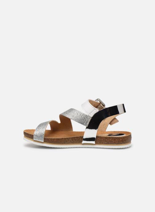 Sandales et nu-pieds Unisa Makena Argent vue face