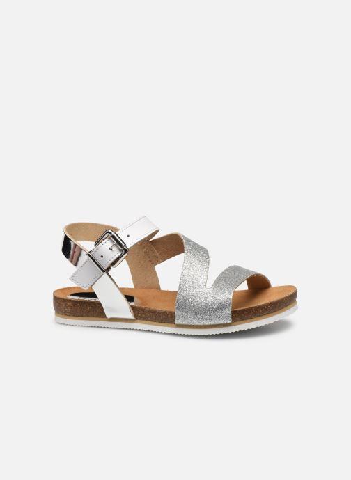 Sandales et nu-pieds Unisa Makena Argent vue derrière