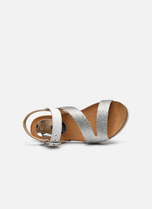 Sandales et nu-pieds Unisa Makena Argent vue gauche