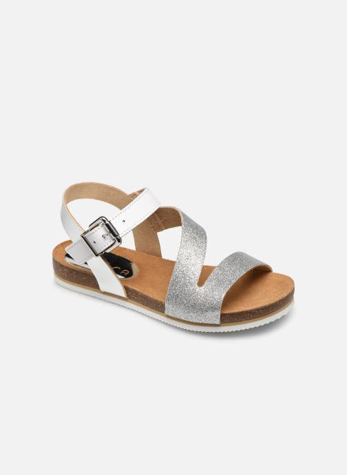 Sandales et nu-pieds Unisa Makena Argent vue détail/paire