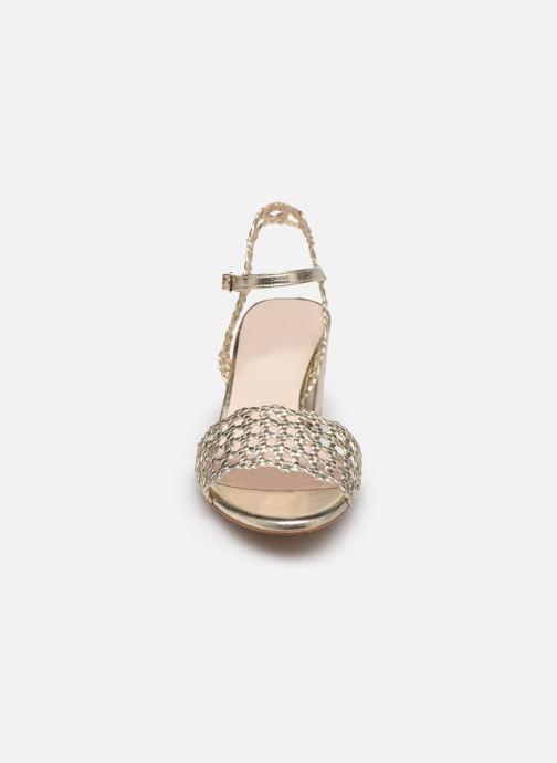 Sandales et nu-pieds Petite mendigote Lelio Foil Or et bronze vue portées chaussures