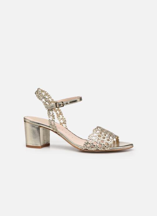 Sandales et nu-pieds Petite mendigote Lelio Foil Or et bronze vue derrière