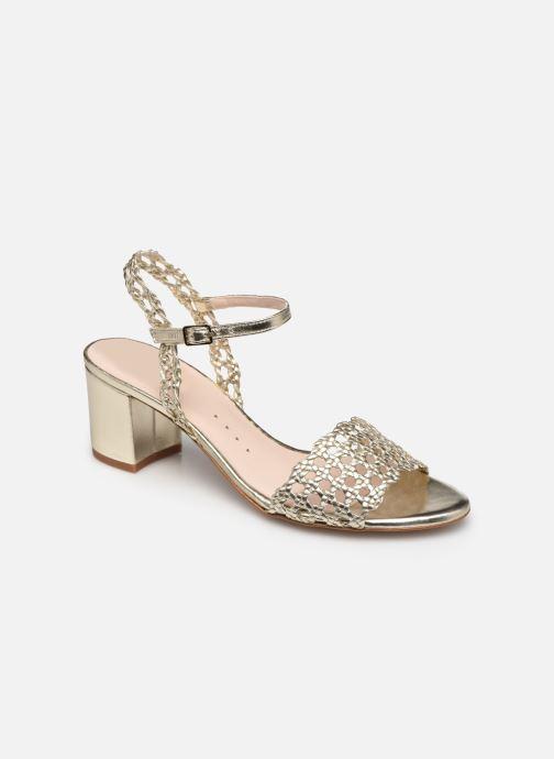 Sandales et nu-pieds Petite mendigote Lelio Foil Or et bronze vue détail/paire