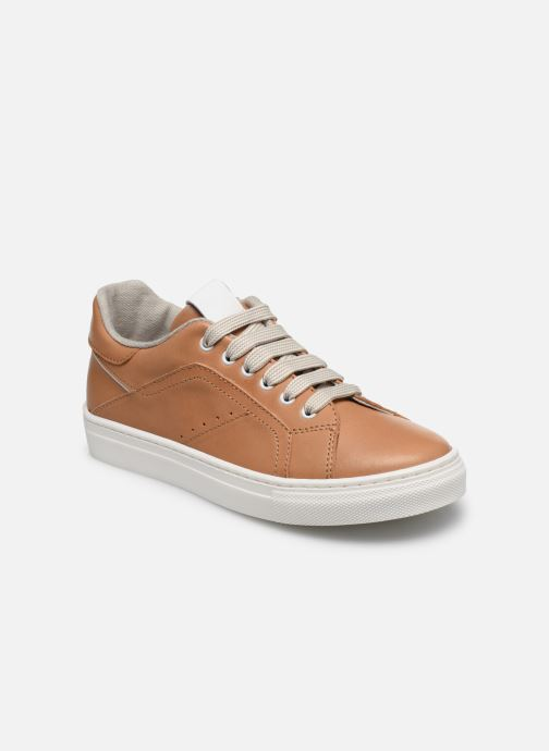 Sneakers Romagnoli Baskets 5517 Bruin detail