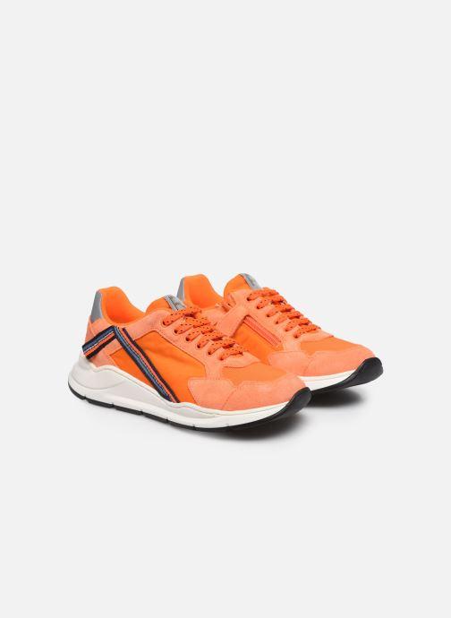 Sneakers Romagnoli Baskets 5530 Arancione immagine 3/4