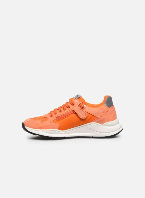 Sneakers Romagnoli Baskets 5530 Arancione immagine frontale