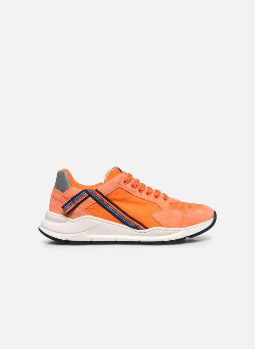 Sneakers Romagnoli Baskets 5530 Oranje achterkant
