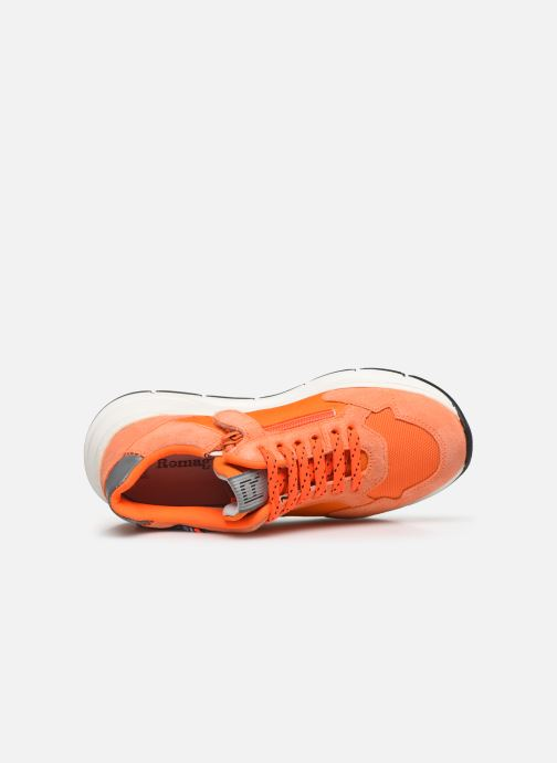 Sneakers Romagnoli Baskets 5530 Arancione immagine sinistra