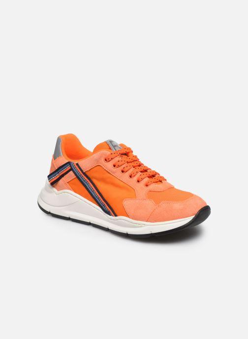 Sneakers Romagnoli Baskets 5530 Oranje detail